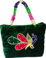 Arisha Kreation Co Hand-held Bag Green