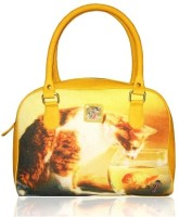 JAJV Vj Bhb Catur Hand-held Bag - Yellow