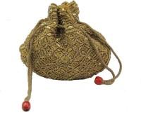 Kion Style Ethnic Pouch Potli Gold