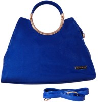 Womaniya Ethnic Hand-held Bag Blue