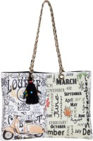 The House Of Tara Printed Canvas 276 Shoulder Bag (Multicolor)