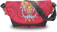 Atrangee Rise Of The Phoenix Messenger Bag (Red)
