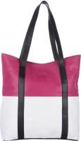 Eavan Eavan Pink White Tote Hobo Shoulder Bag Tote - White
