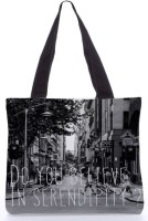 Snoogg Do You Believe In Serendipity Bag - Rpc-428 Tote (Multicolor)