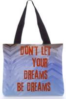 Snoogg Don'T Let Your Dreams Be Dreams Bag - Rpc-419 Tote (Multicolor)
