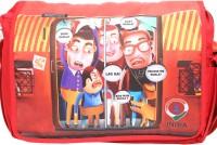 Imagica Sling Bag Mumbai Train Sling Bag - Coral Red