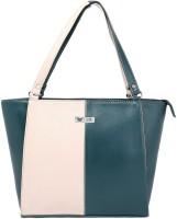 Beau Design PU Leather Shoulder Bag Green-01