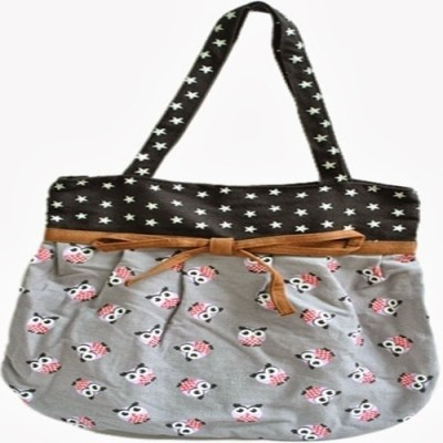 Pretty Women Princess Look Hand Bag Grey 01