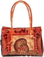 Alekip Fahionable Leather Shoulder Bag Orange-04