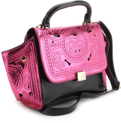 Whopping 47% Off on Pink Color Kiara Hanbag from Flipkart - Rs 1706