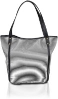 Mister Maker Nautical Basket Shoulder Bag (Black, White)