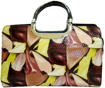 Fashion Russo Fashion Designer Hand-Held Bag (Multicolor)
