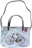 Lotsa Fashion Bicycle Print Hand-held Bag - Wt-004