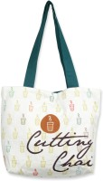 Mad(e) In India Cutting Chai Tote - White