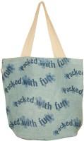 Earthbags SkyBlue Jute Shoulder Bag - Blue
