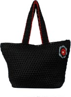 MoKanc Crochet Hand-held Bag - Black