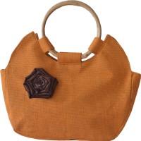 Earthen Me BBJ139 Hand-held Bag (Orange)