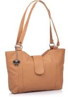 Butterflies Trendy Hand-held Bag - Beige