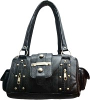 SkyWays Embezzled Studs Hand-held Bag - Black-01