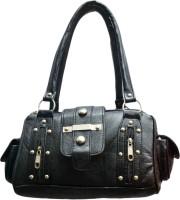 SkyWays Embezzled Studs Hand-held Bag - Black-01