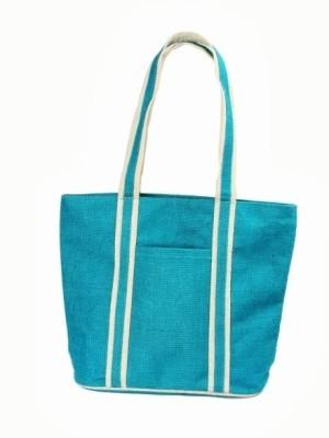 Jute Tree Full Handle Shoulder Bag Blue available at Flipkart for Rs.355
