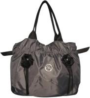 Black&Yellow Deluxe Shoulder Bag - Silver