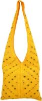 Shilpkart Shilpkart Hand Mirror Work Shoulder Bag Shoulder Bag - Yellow