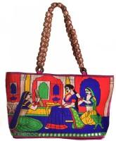 Kwickdeal Raani Daasi Ethnic Hand Embroidered Shoulder Bag Multicolor