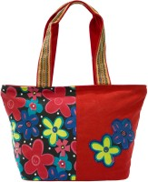 Anekaant Flora Hand Bag Red