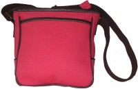 Needlecrest Messenger Bag Hot Pink