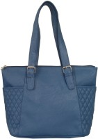 Toteteca Bag Works Quilteralla Shoulder Bag (Navy Blue)