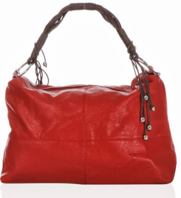 Calvino Calvino Spacious Shoulder Bag (Red)