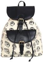 Lychee Bags Women White, Black Canvas Shoulder Bag