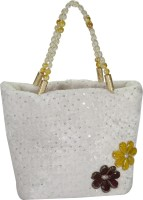 Arisha Kreation Co Hand-held Bag White