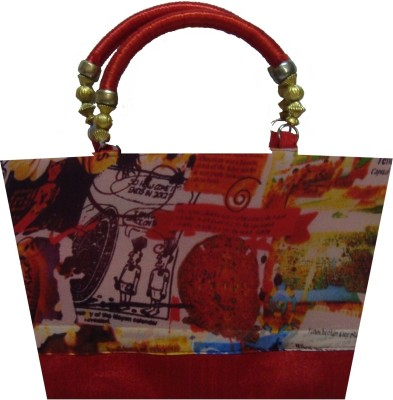 Angelfish Designer Hand-Held Bag (Red)