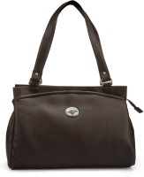 RRTC Trendy And Elegant Hand-Held Bag Brown
