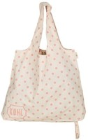 Kohl Retro Prints Women's Cotton Shoulder Bag (Pink)