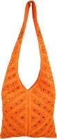 Shilpkart Shilpkart Hand Mirror Work Shoulder Bag Shoulder Bag - Orange