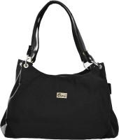 JG Shoppe Sheen Hand-held Bag - Black-980