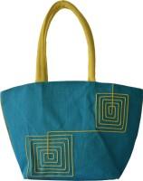 Earthen Me BBJ138 Hand-held Bag (Blue)