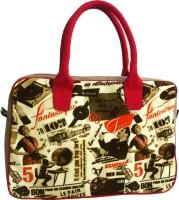 Carry On Bags Retro Vintage Print Hand-held Bag - Beige
