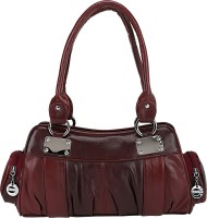 Aadi And Sons Solid Appeal Hand-held Bag Brown01