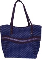 Womaniya Handicraft Jute Shoulder Bag (Blue)