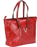Valentino Valentino Genuine Leather Red Color Medium Size Womens Hand Bag Tote Red