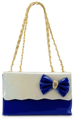 Calvino Calvino Calvino Women Blue Clutch CL_6004_Blue Shoulder Bag