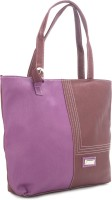 Murcia Hand-held Bag Purple And Maroon