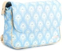 Murcia Hand-held Bag Blue-Beige