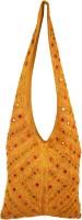 Shilpkart Shilpkart Hand Mirror Work Shoulder Bag Shoulder Bag - Golden