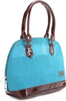 Murcia Hand-held Bag Blue-Brown