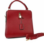 Just Women Faux Leather Hand Bag Messenger Bag Red